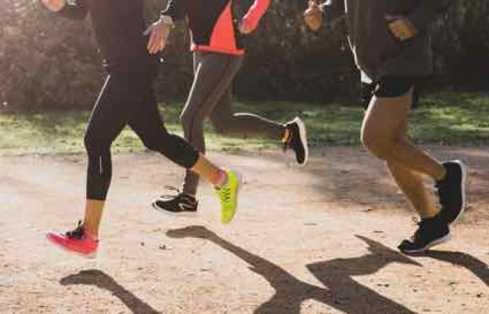 Correr en el Parque Grande