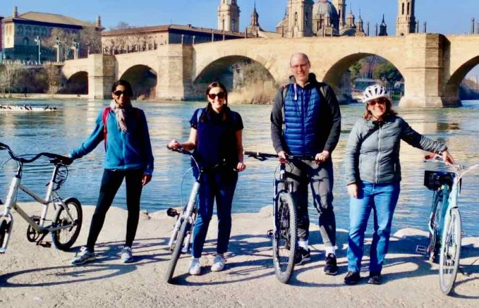 Tour en bici por Zaragoza