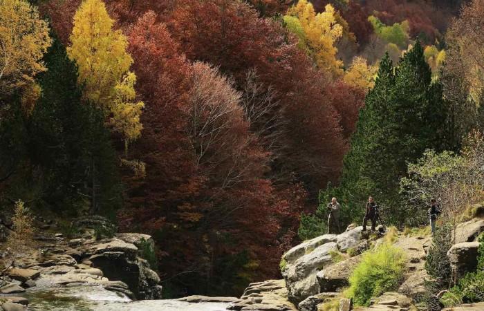 Senderismo en Ordesa en otoño